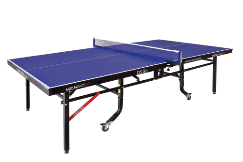 D908 double folding mobile table tennis table