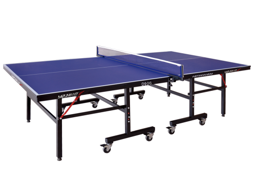 D906 single folding mobile table tennis table